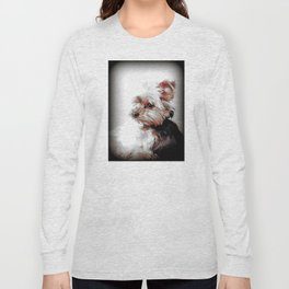Yorkie   Dog   Dogs   Bad Day eh?   Nadia Bonello Long Sleeve T-shirt
