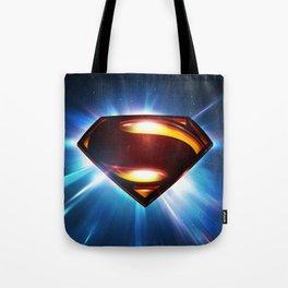 Man of Steel Logo Tote Bag