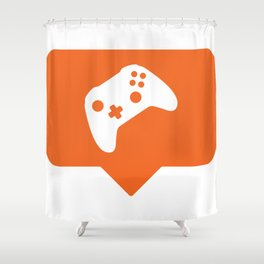 I like video games! Shower Curtain
