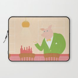 Pig's Bar Laptop Sleeve