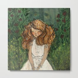 Ginger Bride Metal Print