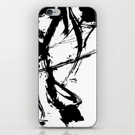 Brushstrokes No.16A by Kathy Morton Stanion iPhone Skin