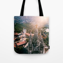 Heaven on a Hill Tote Bag
