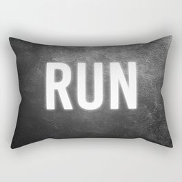 neon advice Rectangular Pillow