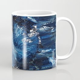 Icy queen, dancer, oil painting by Luna Smith, LuArt Gallery Coffee Mug