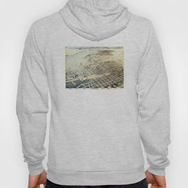 Vintage Albuquerque NM Map (1886) Hoody