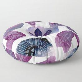 No Shrinking Violet Floor Pillow