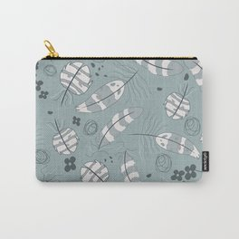 Owl Feathers 004 Carry-All Pouch