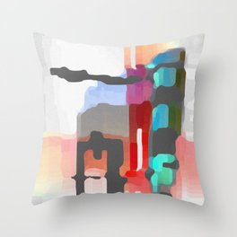 Hallucinatory Smut Throw Pillow