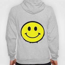 smiley face rave music logo Hoody