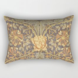 """William Morris """"Honeysuckle and tulip"""" 5. Rectangular Pillow"""