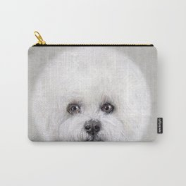 Hand painting Bichon illustration Carry-All Pouch