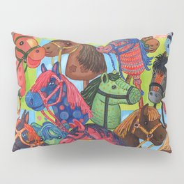 Happy Hobby-Horses Pillow Sham