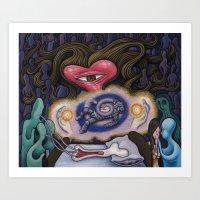 Evagria The Faithful Art Print