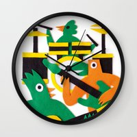 band Wall Clocks featuring The Band by Jacopo Rosati