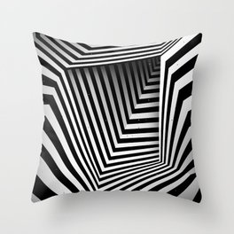 Structure I Throw Pillow