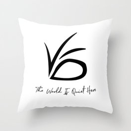 VFD - A Series of Unfortunate Events Throw Pillow