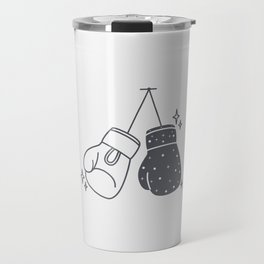 Boxing gloves night and day Travel Mug