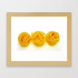 LaPasta Framed Art Print
