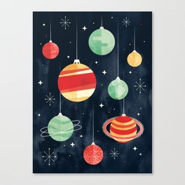 Joy to the Universe Canvas Print