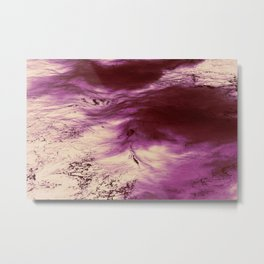 Lava Ocean Metal Print