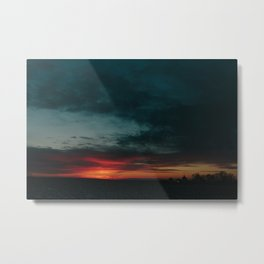 01.27.2017 Sunset Metal Print