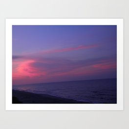 Beach Solitude Art Print