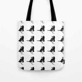 Bada Shanren – sleepy bird– animal,nature,ink,zhu da, 八大山人 Tote Bag