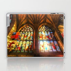 Cathedral Stained Glass Window Laptop & iPad Skin