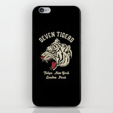 Seven Tigers iPhone Skin