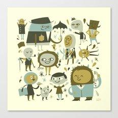 Make Friends Canvas Print