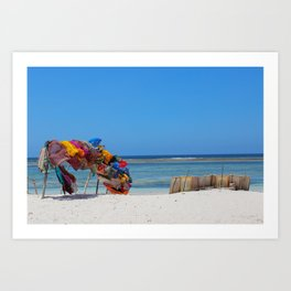 Diani Beach Art Print