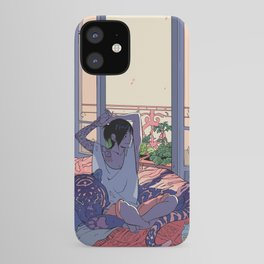 Witch and the Night and Day tiger iPhone Case