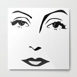 Old Hollywood - Greta Garbo Metal Print