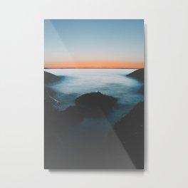 Post Point Metal Print