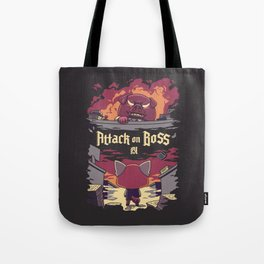 Attack on Boss Tote Bag