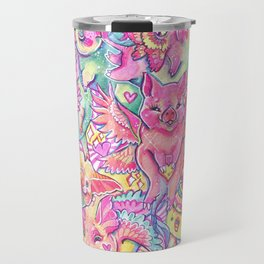 All the piggies Travel Mug