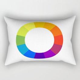 Pantone color wheel Rectangular Pillow