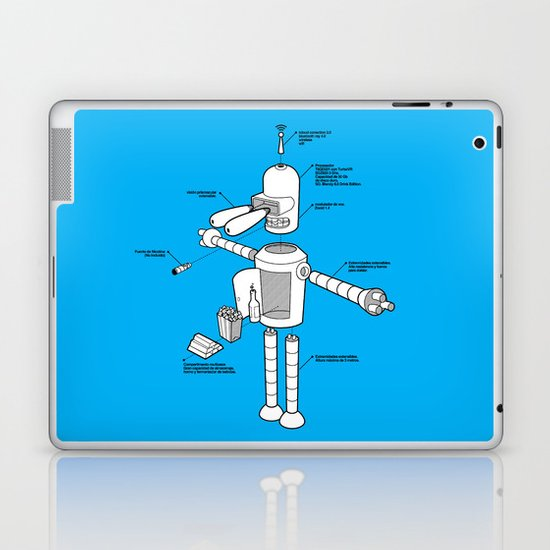 Bender Laptop & iPad Skin