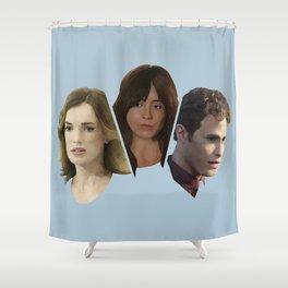 FitzSkimmons Shower Curtain