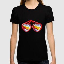 California Girl Sunglasses T-shirt