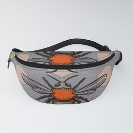 We are Bees - Scandinavian Color Pastel Graphic Fanny Pack