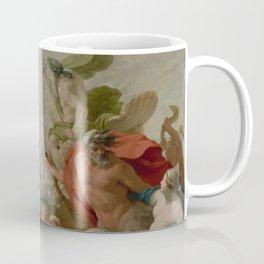 Marine Gods Paying Homage to Love Coffee Mug