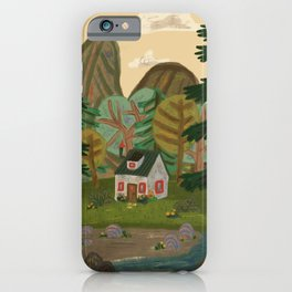 House by the Lake iPhone Case