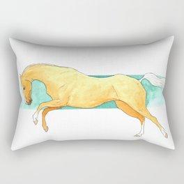 Palomino akhal teke Rectangular Pillow