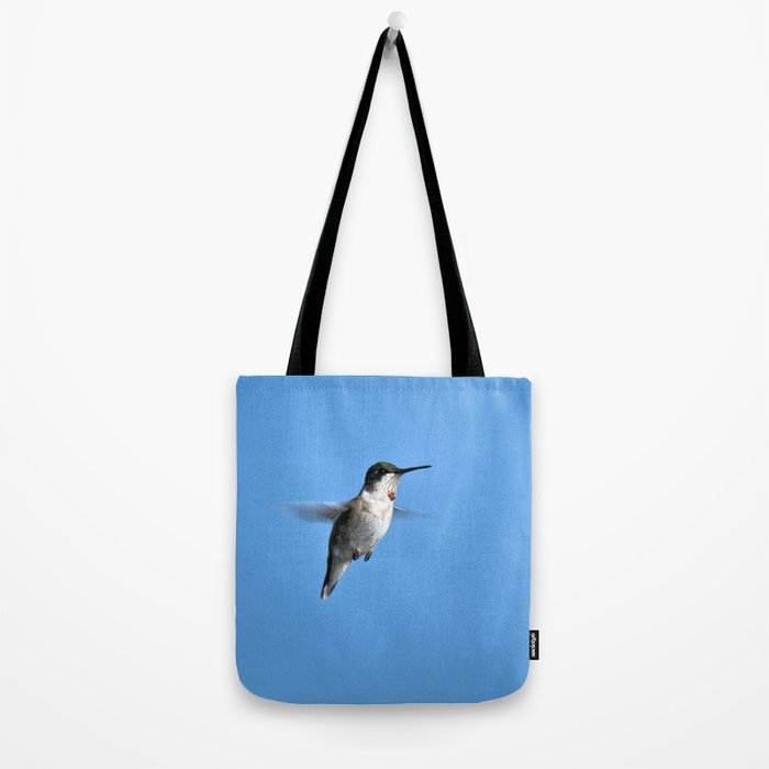 Juvenile Ruby-Throated Hummingbird Tote Bag