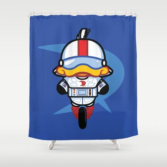 Hello Gizmo Shower Curtain