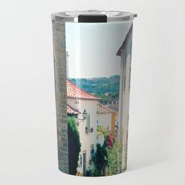 Obidos, Portugal(RR178) Analog 6x6 Kodal Ektar 100 Travel Mug