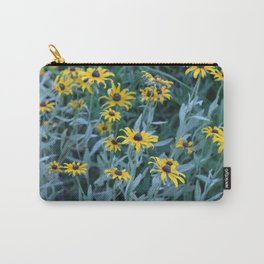 Flower Field Carry-All Pouch