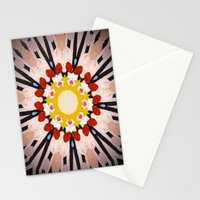 Watermelon Sunflower Stationery Cards
